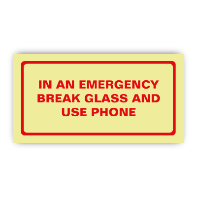 how to break glass safely