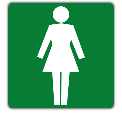female toilets safety sign. Ladies Women Toilet Sign   Spear Labels   Alberton  South Africa
